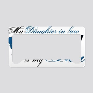 daughter law License Plate Holder