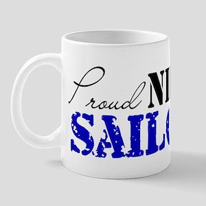 Proud Niece of a Sailor Mug