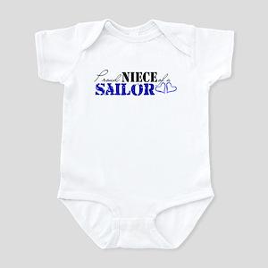Proud Niece of a Sailor Infant Bodysuit