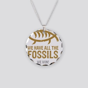 FossilsNew Necklace Circle Charm