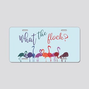 What the Flock Colorful Fl Aluminum License Plate