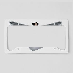 angel_whiteborder1 License Plate Holder