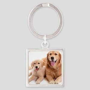 Kozzi-Dog-Buddies-7240x5433 Square Keychain