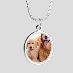 Kozzi-Dog-Buddies-7240x5433 Silver Round Necklace