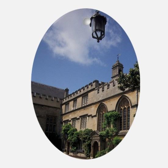 EUROPE, England, Oxford University Oval Ornament