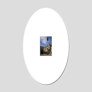 EUROPE, England, Oxford Univ 20x12 Oval Wall Decal