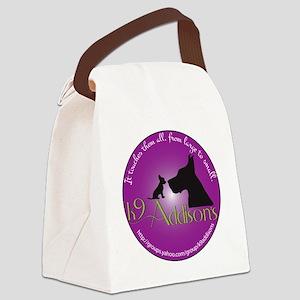 k9addisonsRoundBig Canvas Lunch Bag