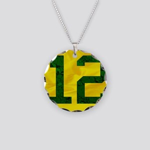 12wallet Necklace Circle Charm