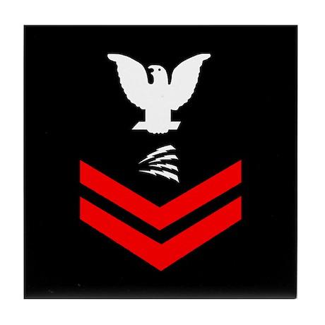 Navy IT2<BR> Tile Coaster