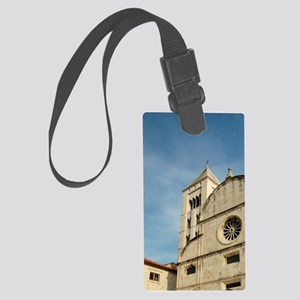 Croatia, Zadar, St. Mary's churc Large Luggage Tag