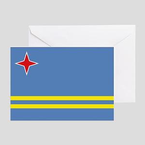 Aruba flag Greeting Cards (Pk of 10)
