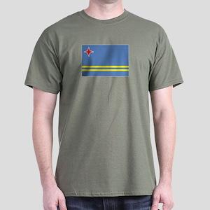 Aruba flag Dark T-Shirt