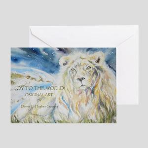 Joy to the World Calendar cover copy Greeting Card