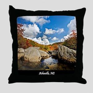 Asheville_MOUSEPAD_1146 Throw Pillow
