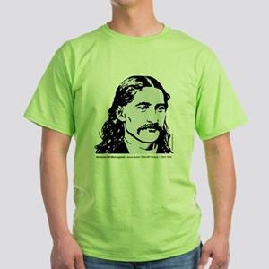 wild_bill_hickok Green T-Shirt