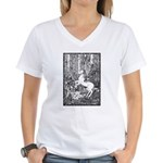Splash! Unicorn Women's V-Neck T-Shirt