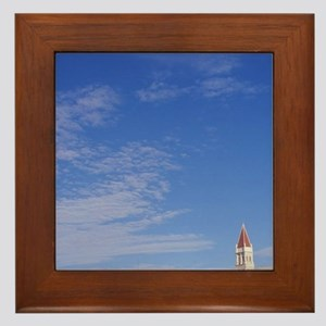 The Cathedral of Saint Lovro in Trogir Framed Tile