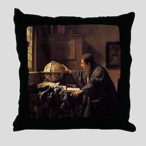 The Astronomer Throw Pillow