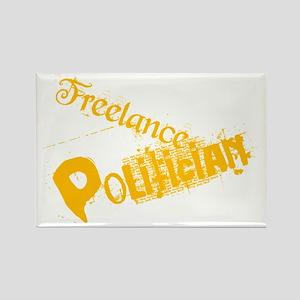freelance-politician Rectangle Magnet