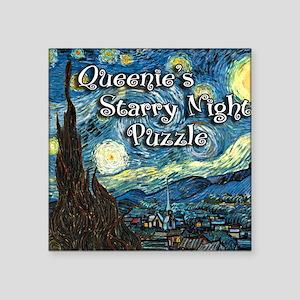 """Queenies Square Sticker 3"""" x 3"""""""
