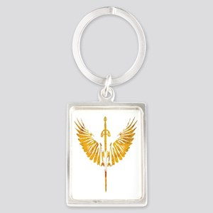 fire-wings Portrait Keychain