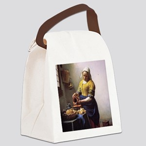 The Milkmaid Canvas Lunch Bag