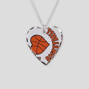 orang  bk sideways, Love Bask Necklace Heart Charm