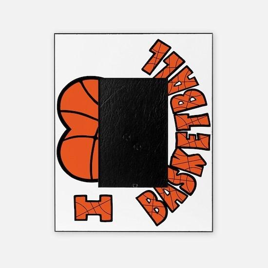 orang  bk sideways, Love Basketball Picture Frame