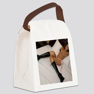 CamiBoots001 Canvas Lunch Bag