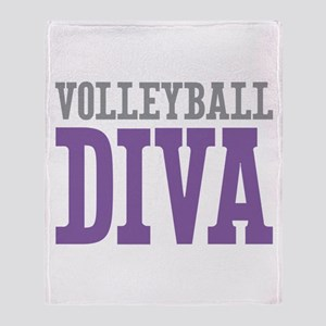 Volleyball DIVA Throw Blanket
