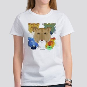 Psychedelic Lioness Women's T-Shirt