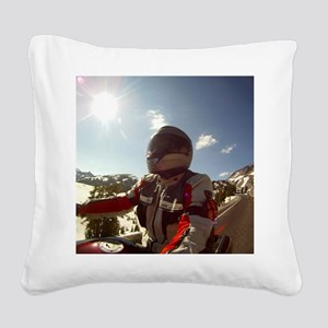 2-Winter-Eric Gus GOPR0311 Square Canvas Pillow