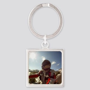 2-Winter-Eric Gus GOPR0311 Square Keychain