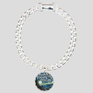 Roseannes Charm Bracelet, One Charm