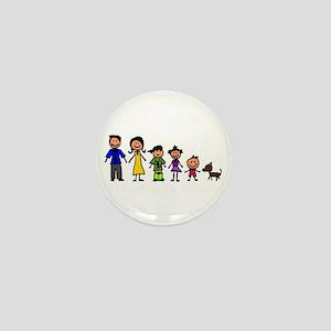 ass family Mini Button