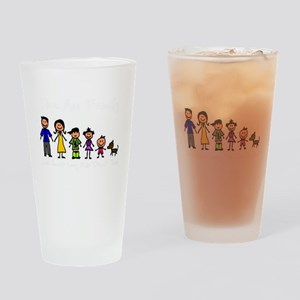 ass family Drinking Glass