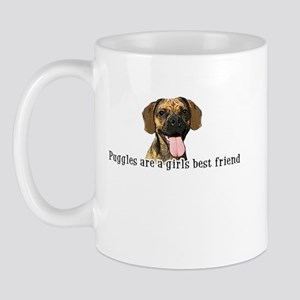 Puggles are a girls best frie Mug
