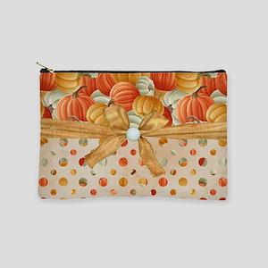 Fall Pumpkins Makeup Pouch