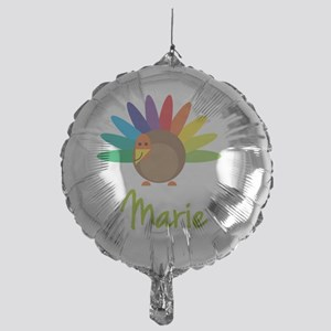 Marie-the-turkey Mylar Balloon
