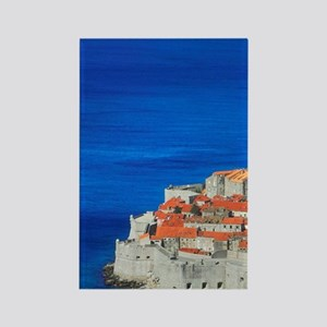 Dubrovnik on the shores of Adriat Rectangle Magnet