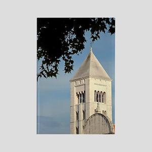 Croatia, Zadar, St. Mary's church Rectangle Magnet
