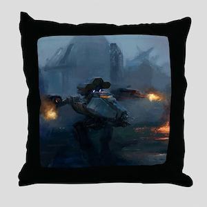 ares_drop Throw Pillow