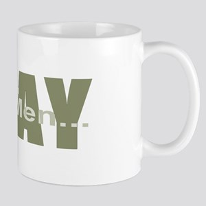 Real Men Pray - Olive Mug