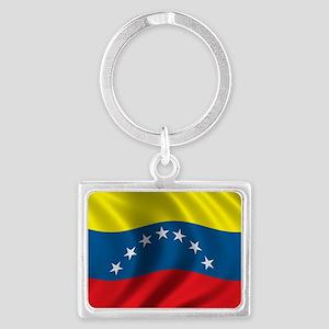 venezuela_flag Landscape Keychain