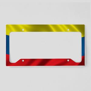 venezuela_flag License Plate Holder