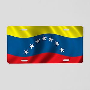 venezuela_flag Aluminum License Plate