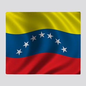 venezuela_flag Throw Blanket