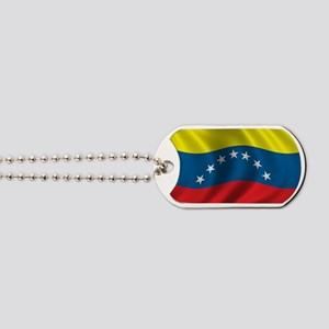 venezuela_flag Dog Tags