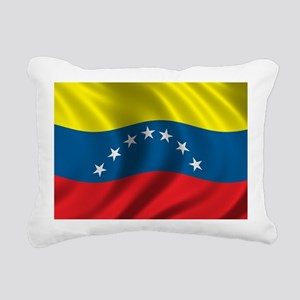 venezuela_flag Rectangular Canvas Pillow