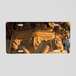 Onofrio's Little Fountain;  Aluminum License Plate